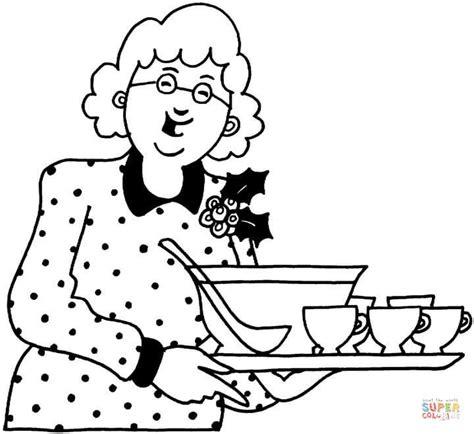 coloring books for seniors kolorowanka babcia z obiadem kolorowanki dla dzieci do druku