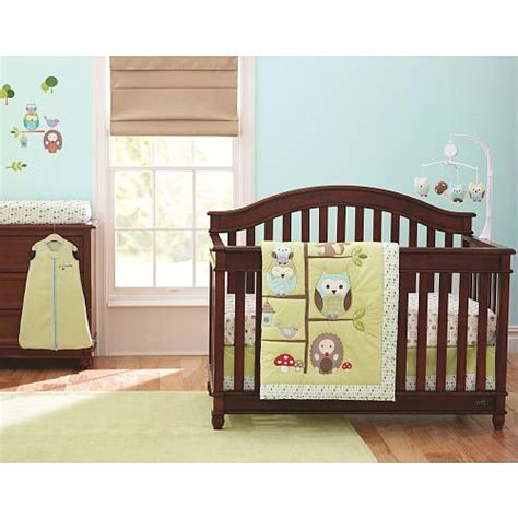 owl crib bedding sets i have this crib set for my baby baby stuff