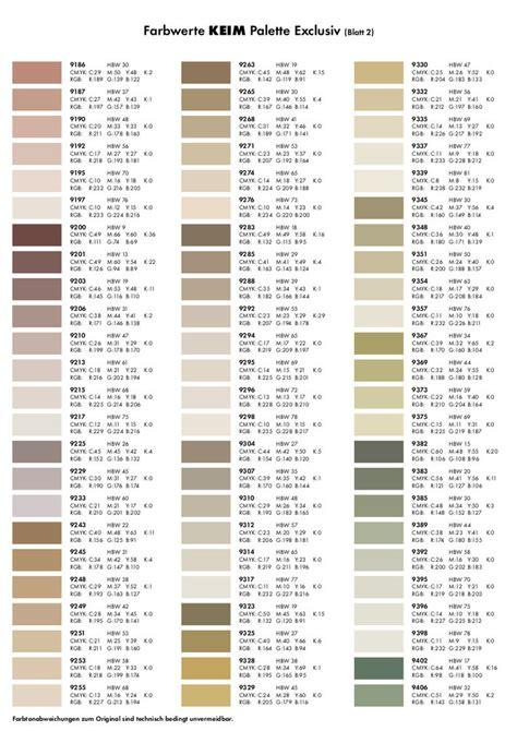 silikatfarbe innen farbpalette keim optil exclusiv farbt 246 ne 5l malermeister ahle shop