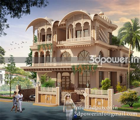 interesting small house designs in rajasthan images