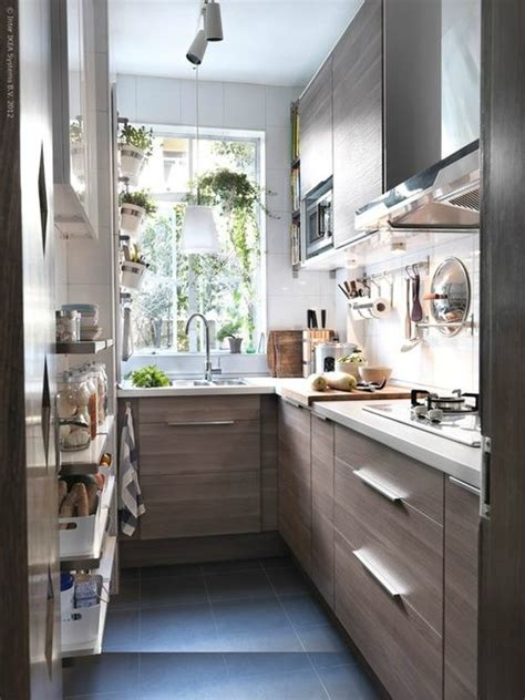 ikea small kitchen design 47 best galley kitchen designs decoholic