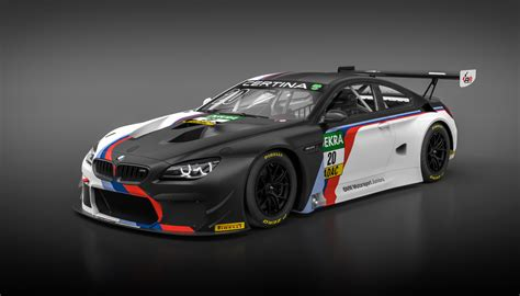 bmw m6 gt3 announced for raceroom racing experience