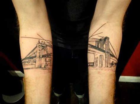 tattoo williamsburg new york best 25 bridge tattoo ideas on pinterest