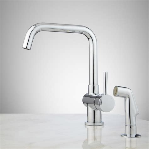 kitchen faucet with sprayer single hole kitchen faucet with spray kitchen