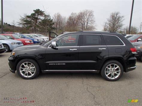 jeep summit black 2014 jeep grand summit 4x4 in brilliant black