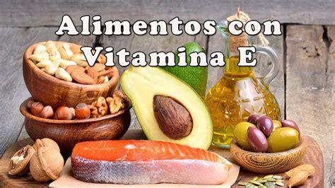 alimentos ricos en vitamina alimentos con vitamina e alimentos ricos en vitamina e