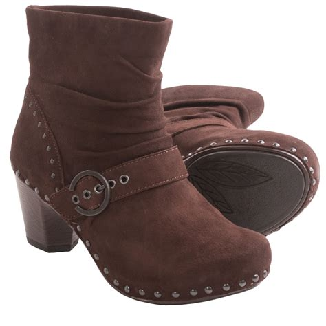 dansko ankle boots dansko ankle boots for in chocolate kid suede