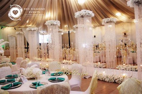 bn wedding decor great gatsby wedding in nigeria by red