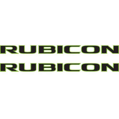 jeep wrangler rubicon logo rubicon logo font alternative clipart design