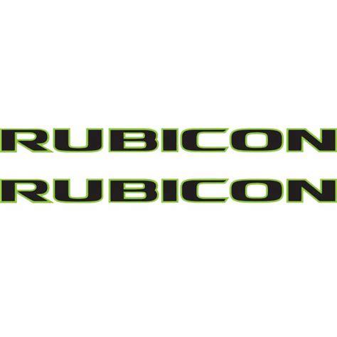 jeep green logo rubicon logo font alternative clipart design