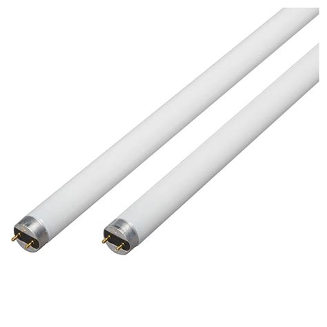 ges led tube light 32w fluorescent t8 48 quot 2 pack rona
