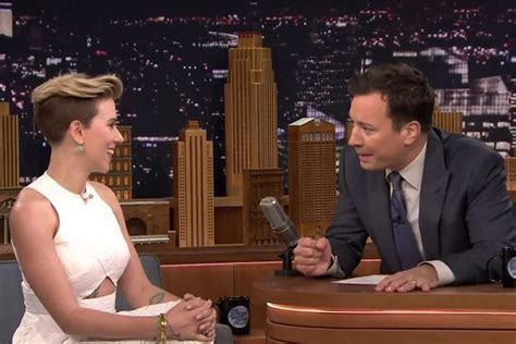 jimmy fallon tattoo johansson gave jimmy fallon a food