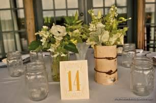 country wedding centerpieces ideas rustic country wedding ideas jar vases
