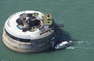 historic spitbank fort a mile from the coast gets multi