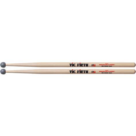 Stick Drum Vic Firth American Classic 5b White Wood Tip vic firth american classic 5bco chop out 171 drumsticks