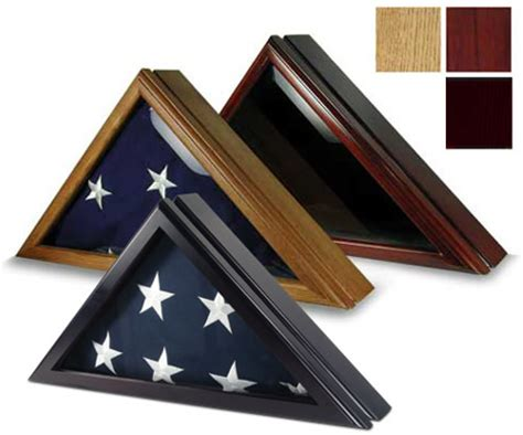 flag cases large triangle with pedestal triangle flag cases capitol flags cases