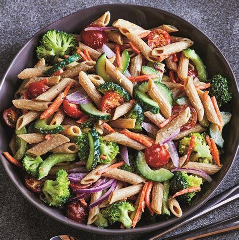garden vegetable pasta salad the cook monday