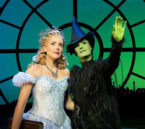 wicked  couple  memorable songs dry ice costume