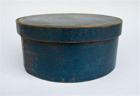 Antique Pantry Boxes by Original Blue Painted Antique Pantry Box E B Frye