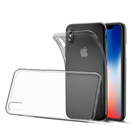 newsoftcase clear iphone x bakeey clear transparent soft tpu for iphone x alex nld