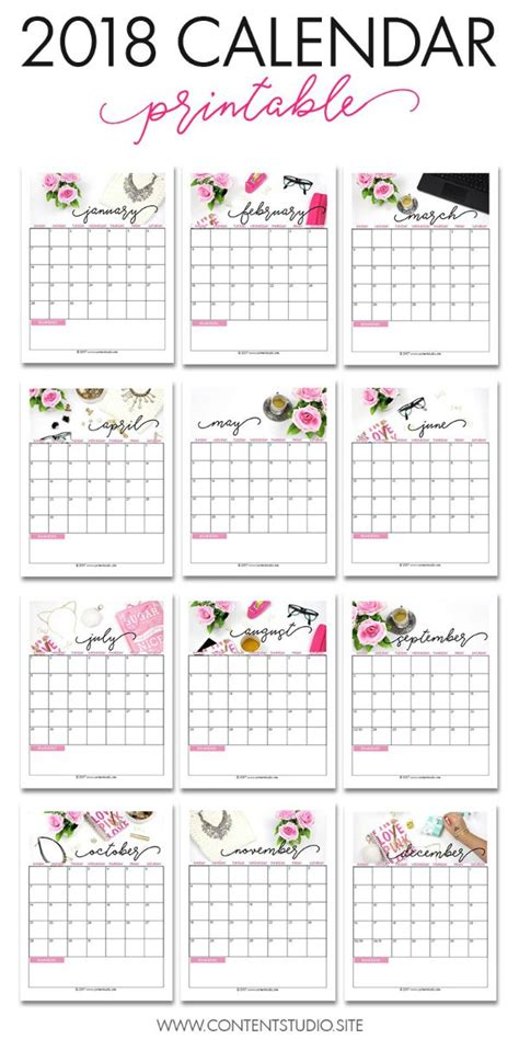 printable calendar 2018 disney free 2018 calendar printable for download the suburban mom