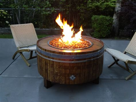 barrel fire pit lp gas fire pit dyi shop wine barrel fire pits