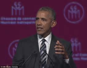 obama has aged a lot since his first white house obama warns of trump s extreme nationalism and xenophobia