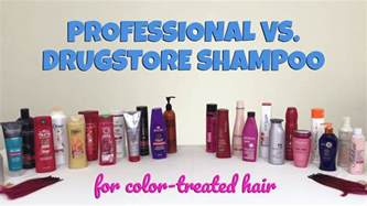best wash out hair color brand professional vs drugstore the best shoo for color