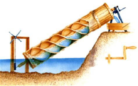 dimensionamento cremagliera idraulica la coclea vite di archimede