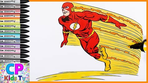 the flash colors the flash kid flash to coloring pages gulfmik 980908630c44