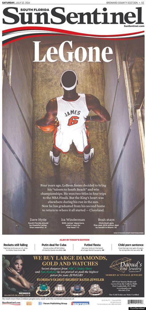 ny times sports section the new york times sports section is the king of lebron