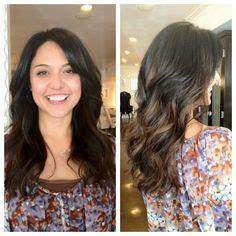 adriana lima s hair layers and soft balayage balayage hair coloring on pinterest