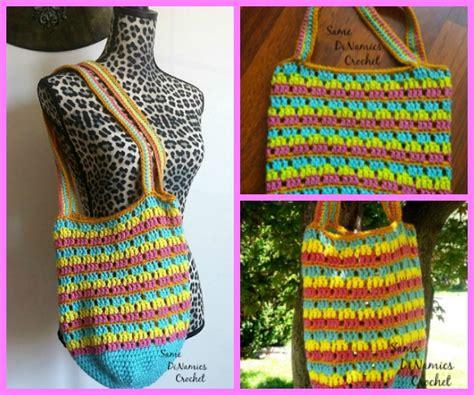 crochet grocery bag pattern youtube summer tote free crochet bag pattern cre8tion crochet
