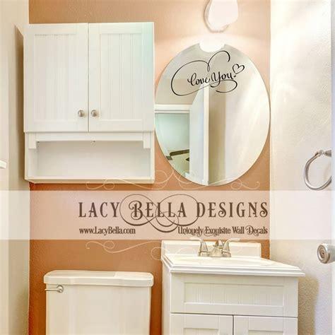bathroom mirror stickers 59 best images about bathroom decals on pinterest wash