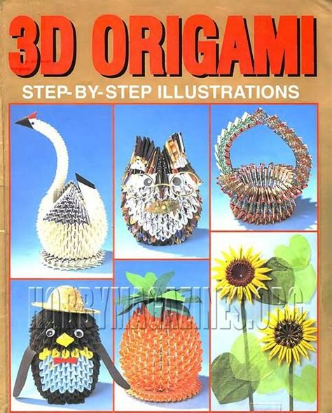 3d Origami Step By Step Illustrations - 3d origami step by step illustrations 187 hobby magazines