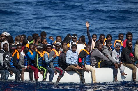 refugee boat italy spain an up close look at refugee rescues on the mediterranean