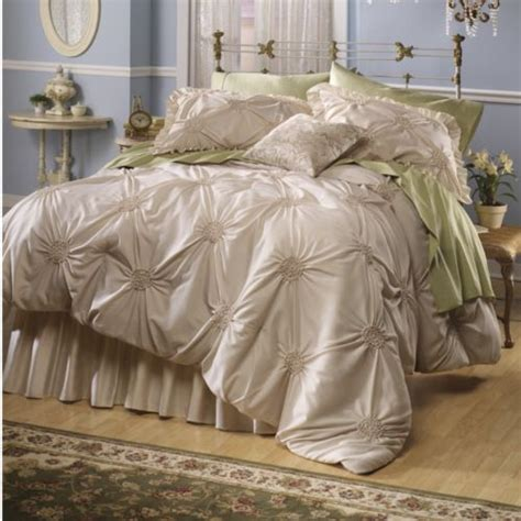 smocked comforter lisette smocked comforter set from midnight velvet www