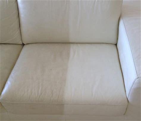 comment nettoyer canapé cuir blanc nettoyage de divan nettoyer les divans est 233 conomique