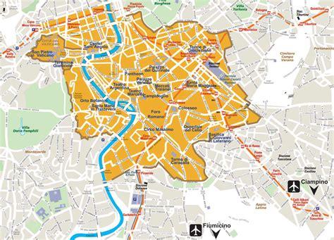 the city of map city map rome 2 mapsof net