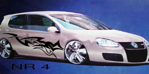 Sticker F Rs Auto Tuning by Seitenaufkleber F 220 Rs Auto Seitendekor Karosserie Tribal