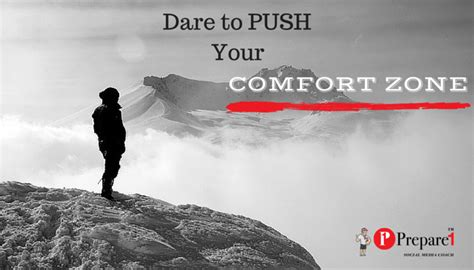push your comfort zone 5 ways to get out of your comfort zone social media