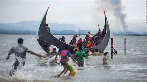 refugee boat picture photos rohingya refugees flee myanmar