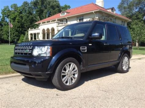 find used 2010 land rover lr4 hse 3rd row low in