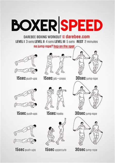 boxers workout and boxing on