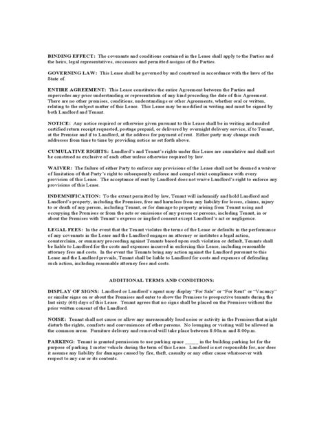 New York Month To Month Lease Agreement Free Download New York State Lease Agreement Template