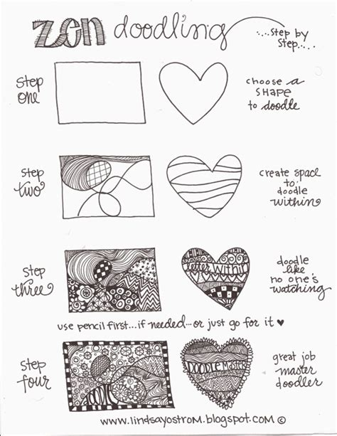 how to make doodle on how to draw doodles step by step image guides