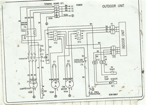 split type aircon wiring diagram 32 wiring diagram