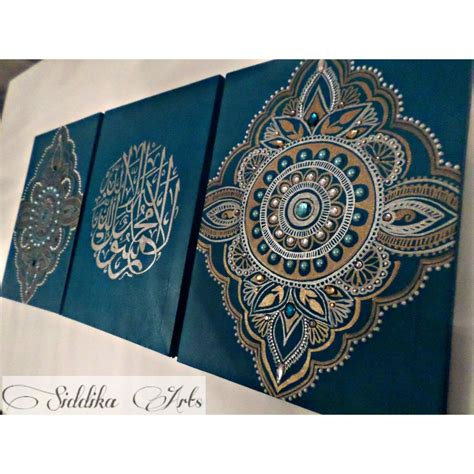islamic pattern canvas pin by aisha khan on calligraphy art pinterest islamic