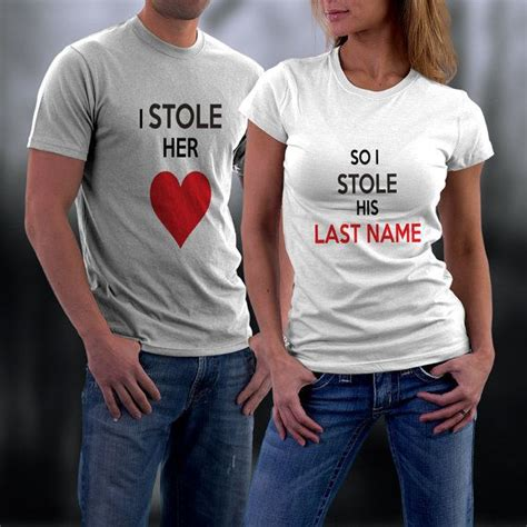 Customized Relationship Shirts Couples Shirts Personalized Shirts And
