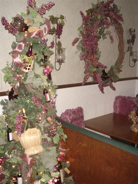 wine theme christmas tree wine themed tree wine theme tree tree ideas and